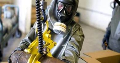 LLL-Live Let Live- Discovered 100 tons of military grade chemicals in ISIS military bases Mosul