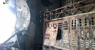 LLL-Live Let Live-ISIS claims key Raqqa dam on brink of collapse and tweets picture of wrecked control room