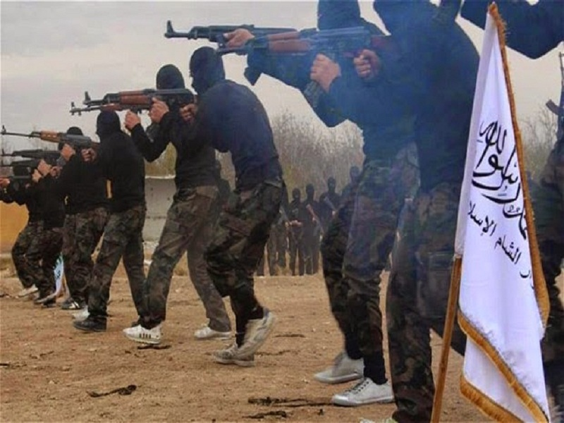LLL-Live Let Live-ISIS terrorist group threatens the U.S.-led campaign in Raqqa