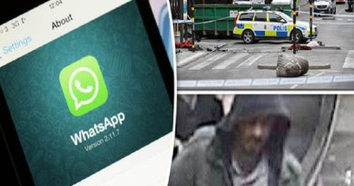LLL-Live Let Live-Stockholm terror attacker received orders through Whatsapp from ISIS leaders