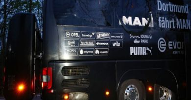 LLL-Live Let Live-Three roadside bombs that struck Borussia Dortmund team bus were detonated by mobile phone