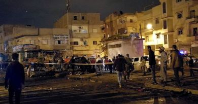 LLL-Live Let Live-At least 30 people are killed and 50 others are injured in twin bomb attack in Libya's Benghazi