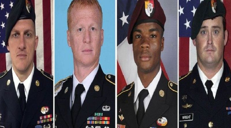 LLL-Live Let Live-ISIS terrorists claim that they have video of how 4 US soldiers are getting killed in Niger
