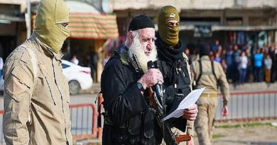 LLL-Live Let Live-ISIS 'white beard' executioner who stoned people to death in Mosul is captured by Iraqi army forces