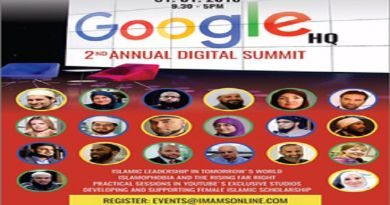 LLL-Live Let Live-Google and YouTube are sponsoring a day-long symposium that features anti-semitic Islamists