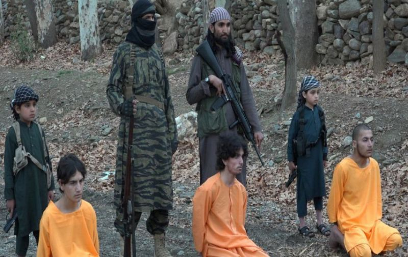 LLL - Live Let Live - ISIS branch in Afghanistan releases photos of small children participating in executions 2