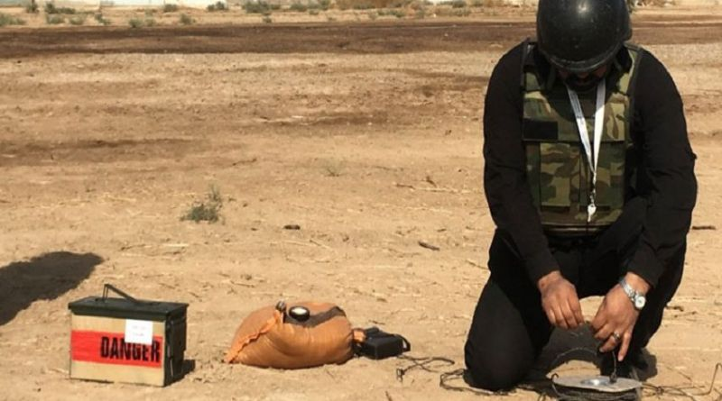 LLL - Live Let Live - Denmark gives $3.7 million to remove ISIS explosives in Iraq