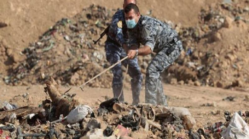 LLL - Live Let Live - Remains of dozens of women recovered in mass grave near Mosul