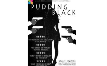 image of Pudding Black poster by 1956 Theatre at Salford Arts Theatre