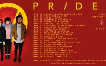 image of Prides tour poster