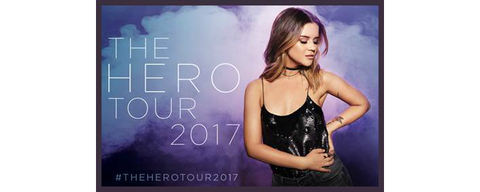 poster for Maren Morris' Hero Tour 2017