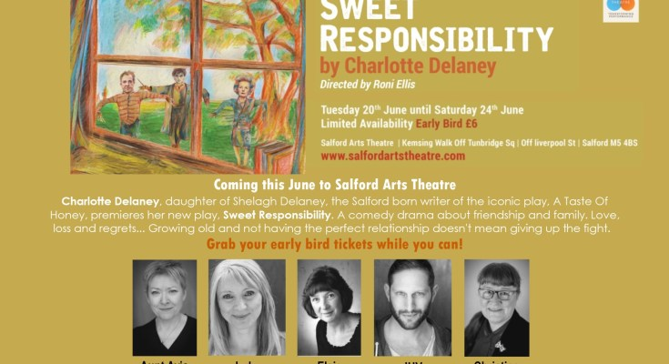 Sweet Responsibility at Salford Arts Theatre promotional poster