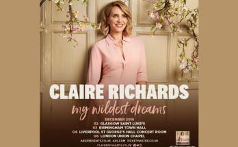 claire richards has announced a UK tour