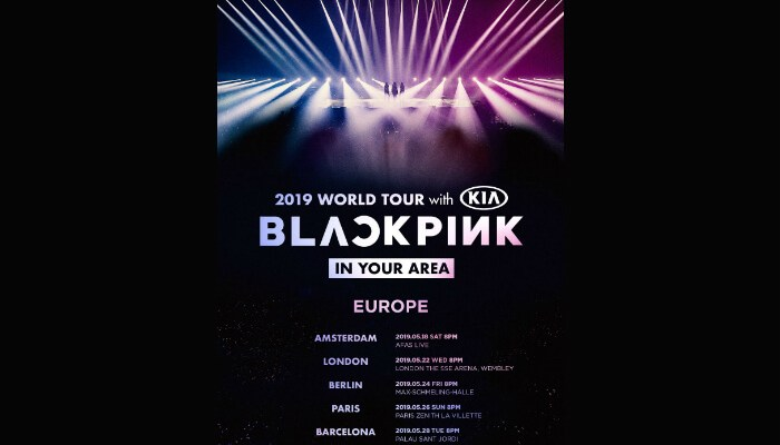 Blackpink will headline at London's SSE Wembley Arena