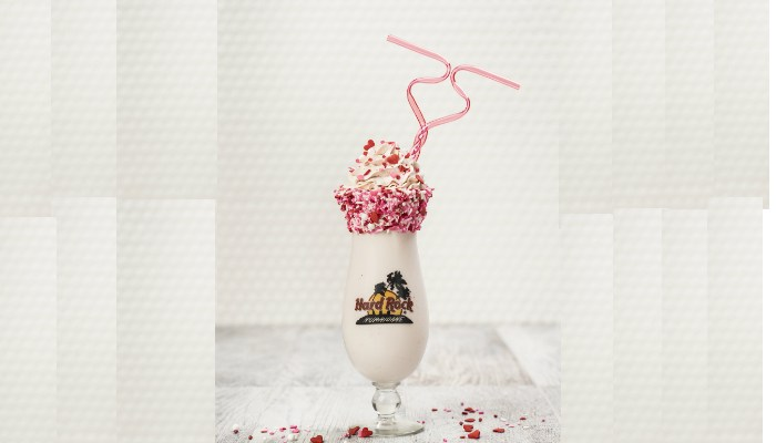 Hard Rock Cafe Manchesters Sweetheart Shake for Two