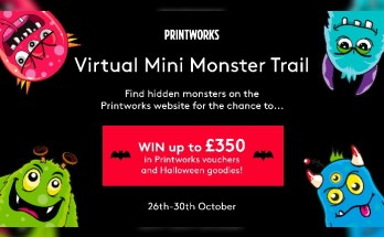 Printworks - Mini Monsters Trail
