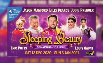 Manchester pantomine - Sleeping Beauty at Manchester Opera House