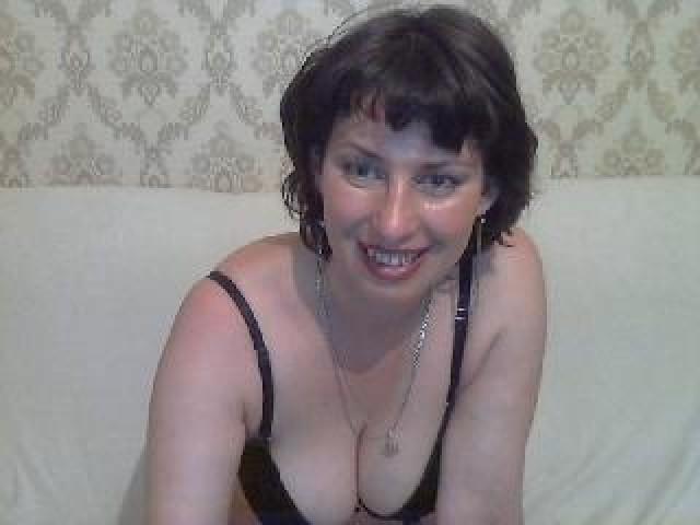 Anne4ka Live Green Eyes Shaved Pussy Brunette Medium Tits