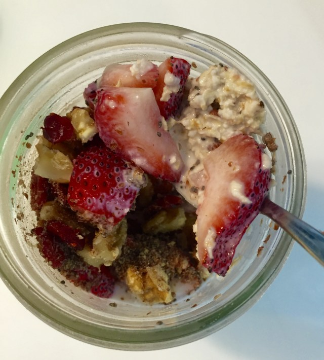 Healthy Breakfast Singapore - overnight oats