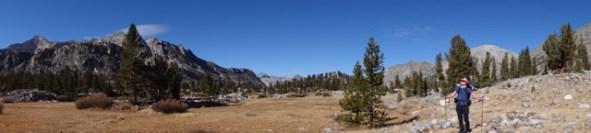 rae lake loop hike day 3 pana