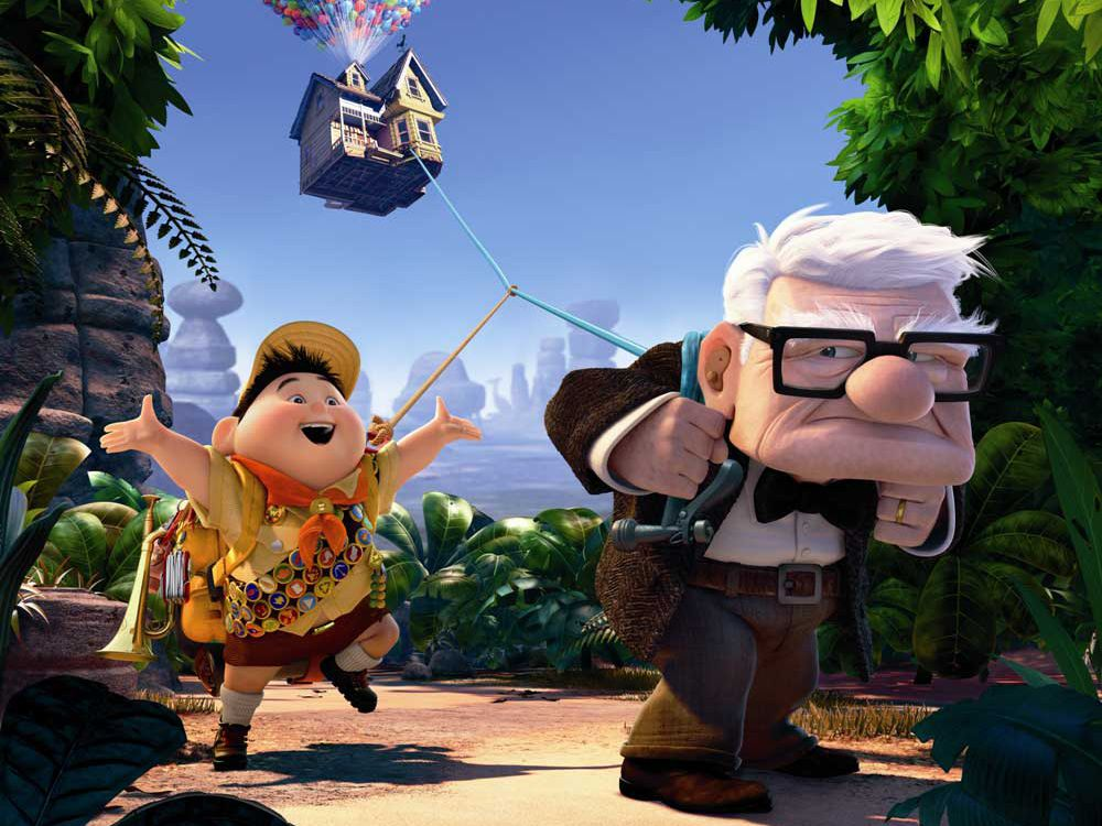 Movie Images And Characters From Disney S Up 2009