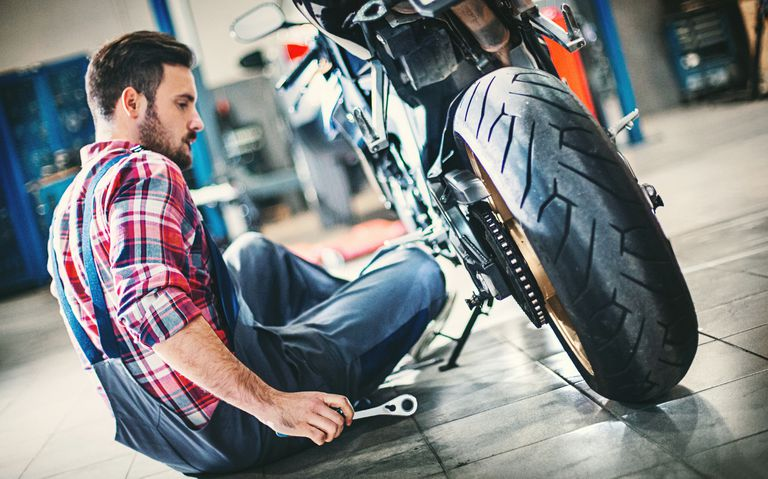Motorcycle Repair Cost Calculation