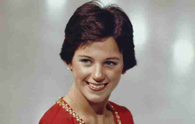 skater dorothy hamill's famous wedge haircut
