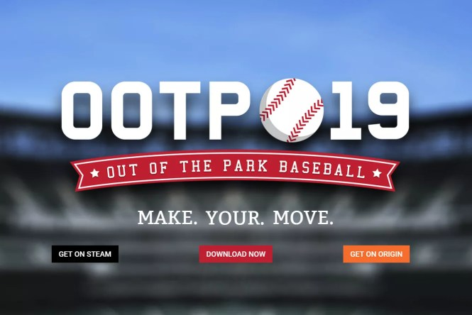 Out of the Park Baseball website