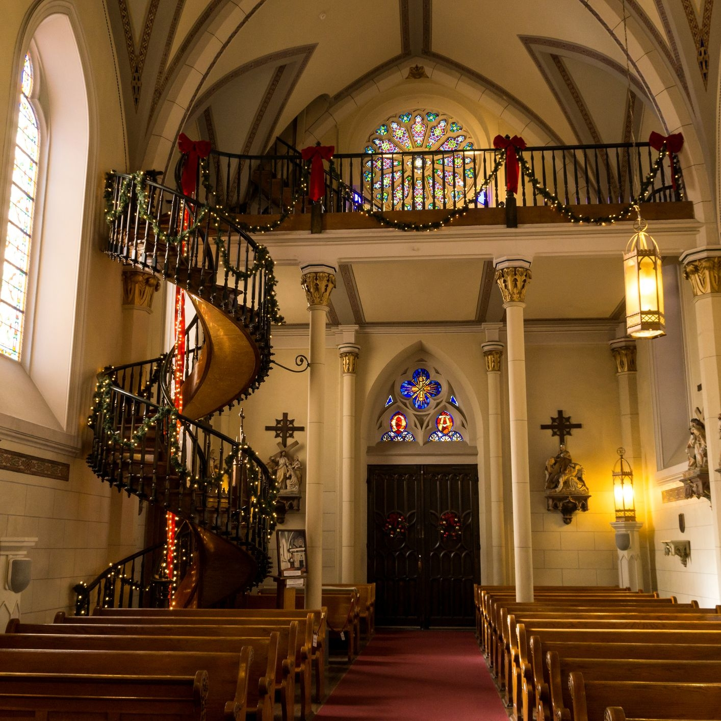 The Loretto Chapel S Miraculous Staircase | Spiral Staircase Loretto Chapel | St Joseph | Immaculate | Gothic | Dangerous | Medieval