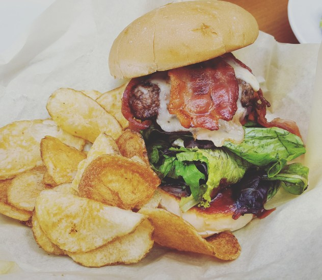 Craft burger burger