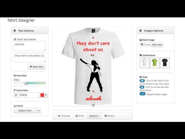 T shirt Design Business in Nigeria