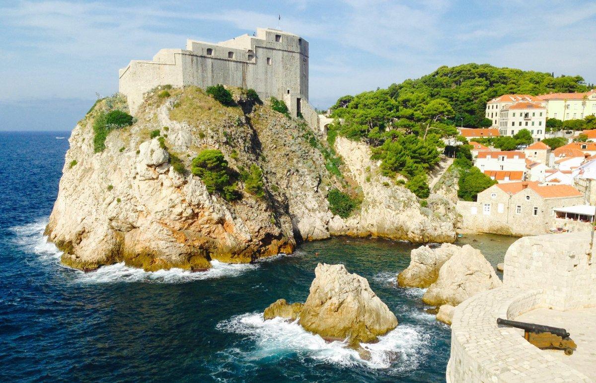 Fort Lovrijenajc in Dubrovnik