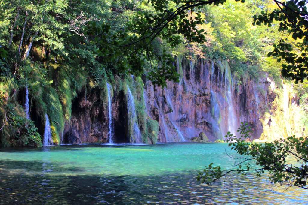 waterfalls at Plitvice National Park