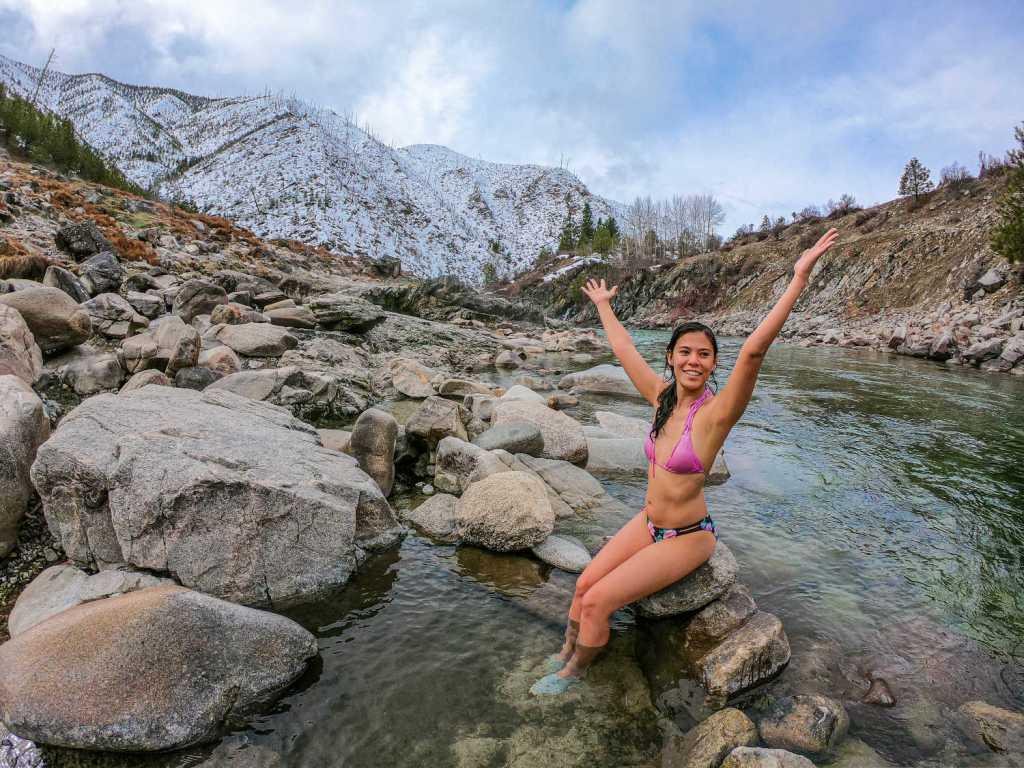 Kirkham Hot Springs in Boise Idaho