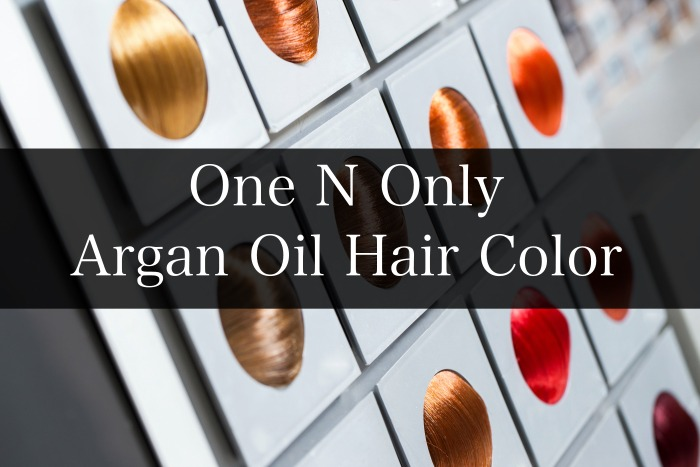 One N Only Argan Oil Hair Color Chart Guide Live Beauty