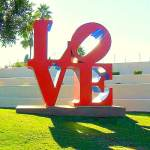 Scottsdale AZ Love Sculpture
