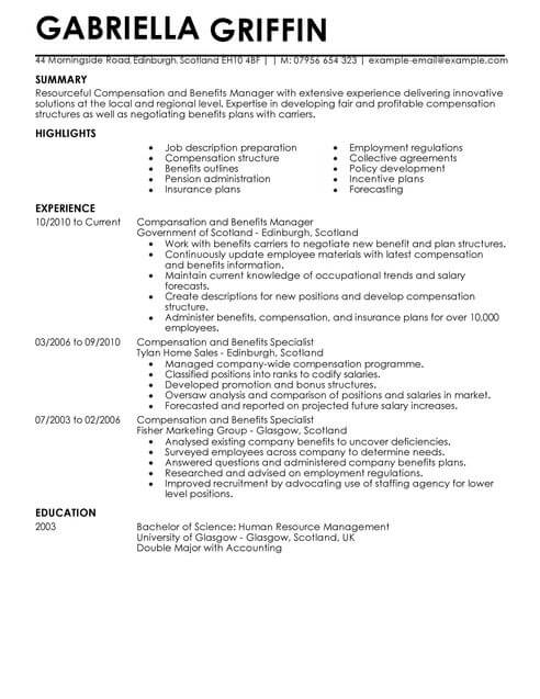 benefits specialist cover letter sample