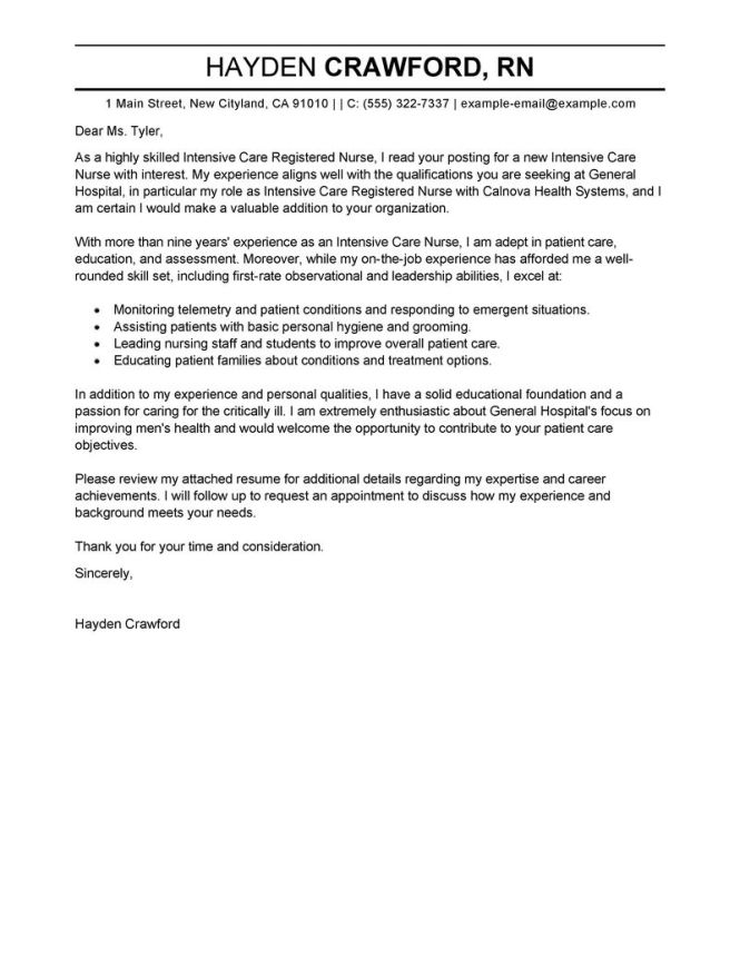 cover letter for mental health manager no experience