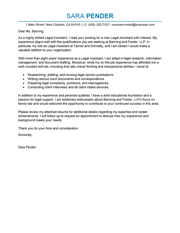 Cover Letter Letters Legal Template Best Sle Paralegal Resume Throughout