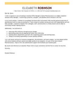 Cover Letter Medical Office Secretary