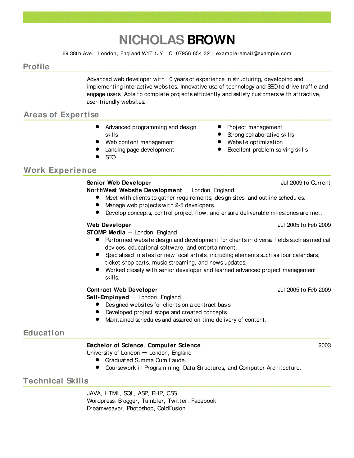 Breakupus Personable Resume Templates Amp Examples Industry How To     Resume Downloads