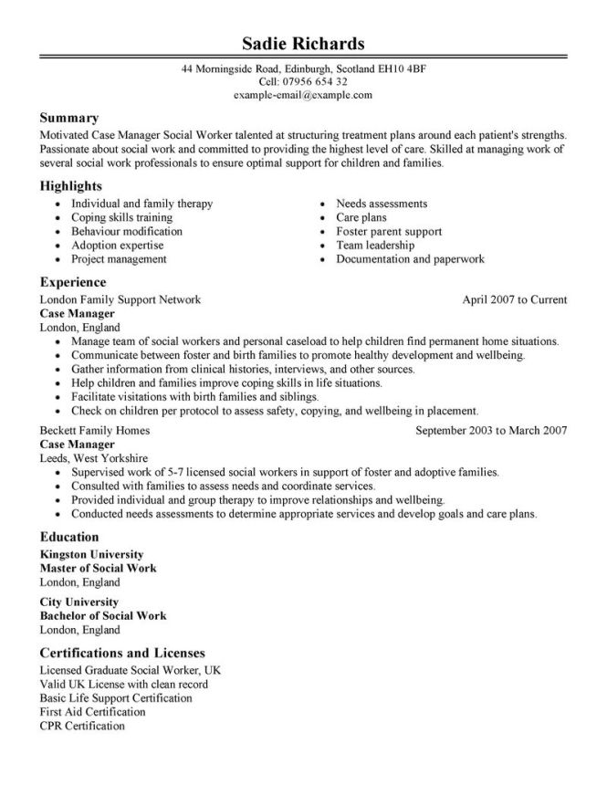 social work resumes examples examples of social work resumes