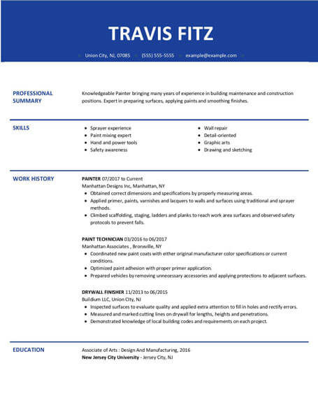 Resume Templates Easy To Customize