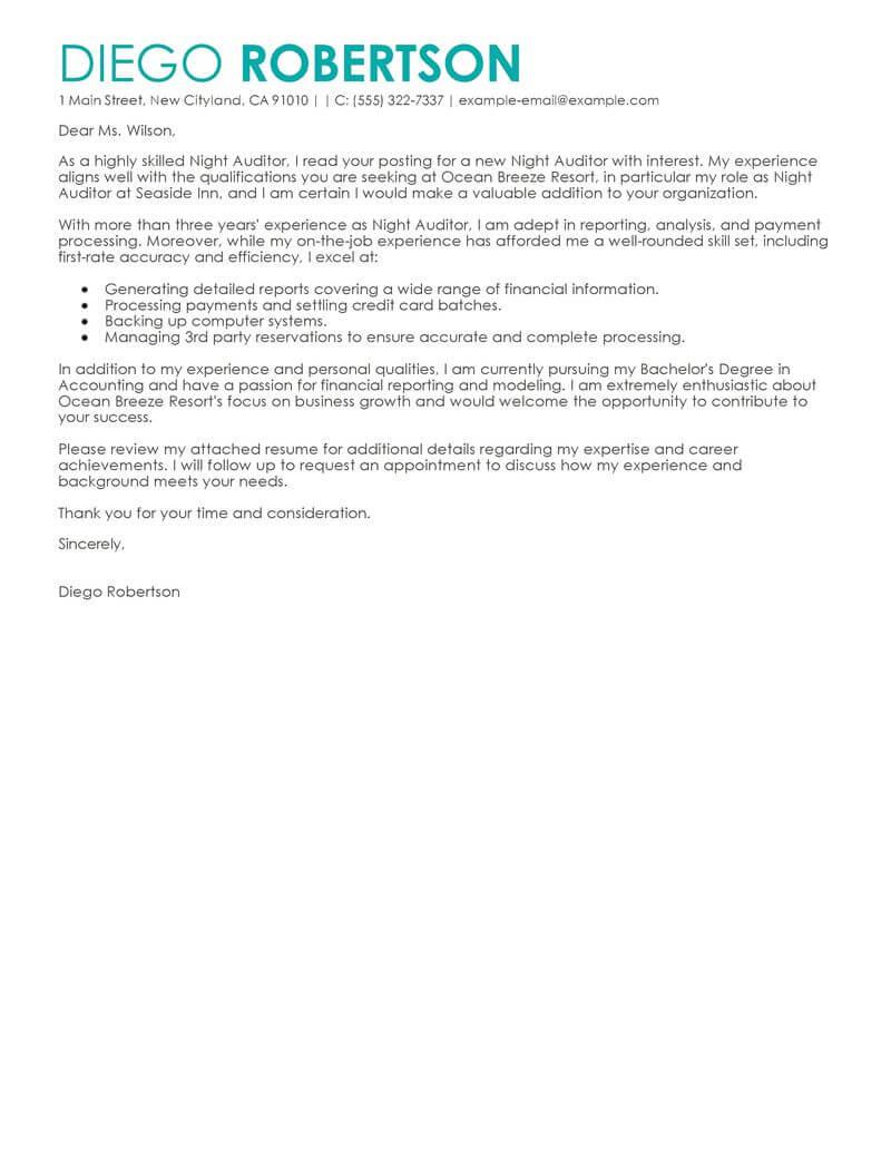Audit Cover Letter Example   Jidiletter.co