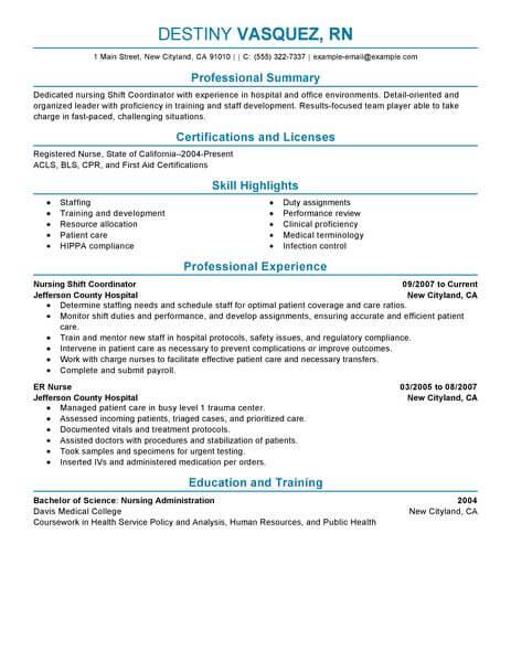 Staffing Coordinator Resume - Resume Sample