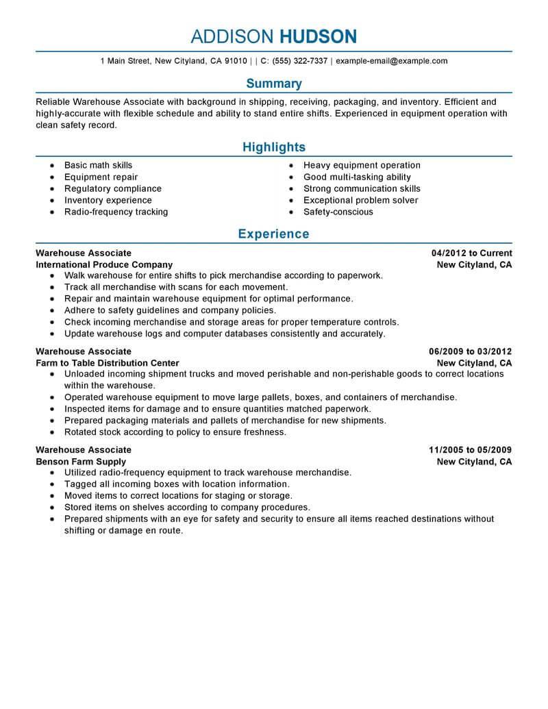 Employee Professional Skills Examples Resume Store