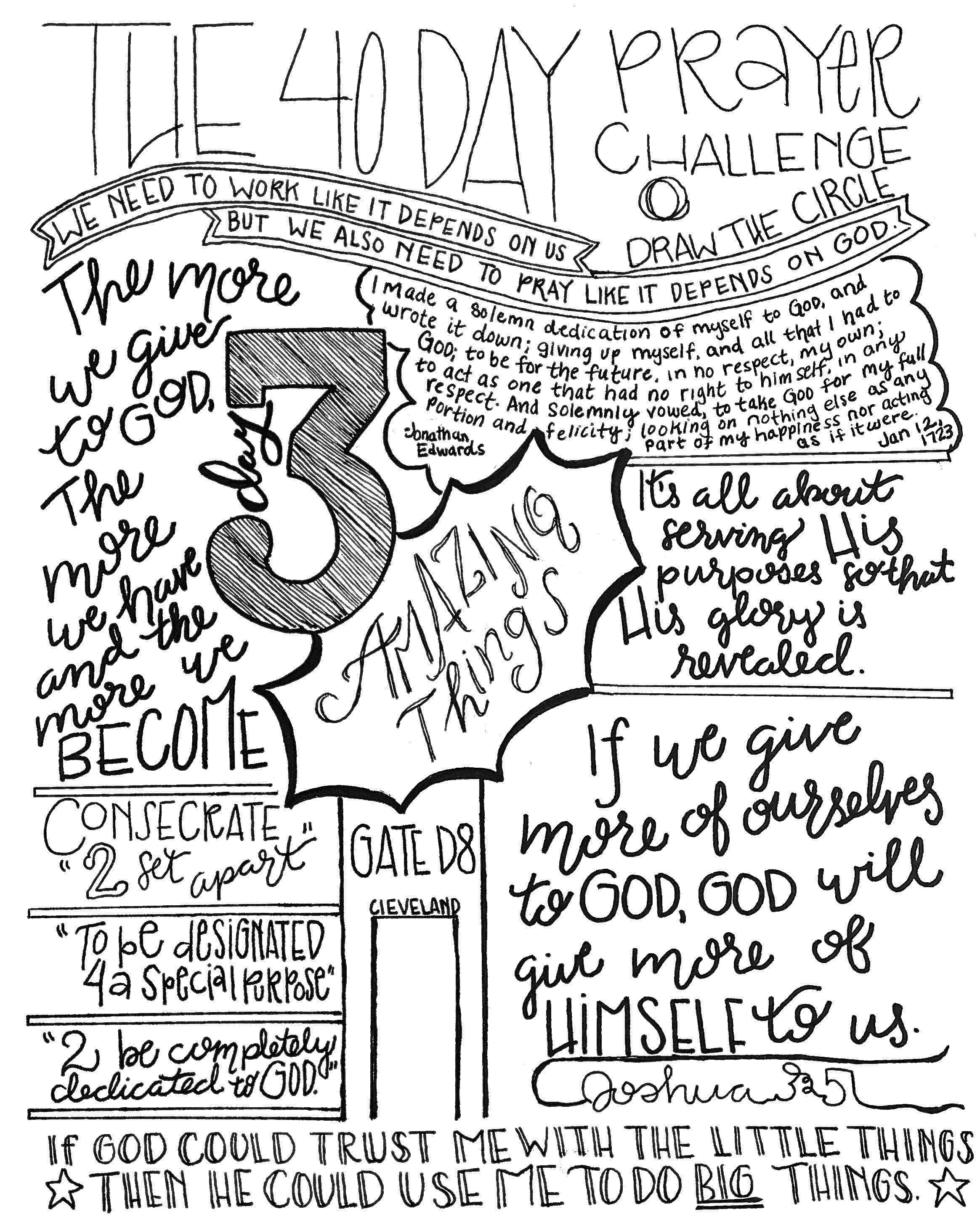 Draw The Circle 40 Day Prayer Challenge Day 3 Livecreative101