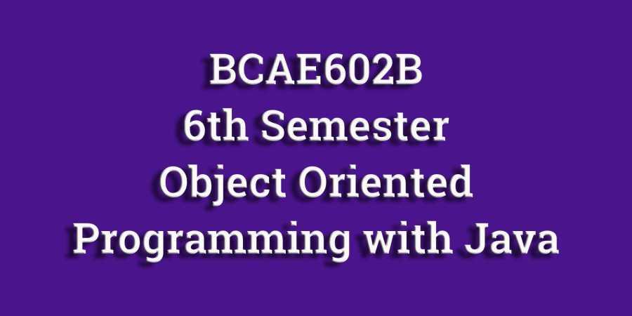 MAKAUT/WBUT BCAE602B