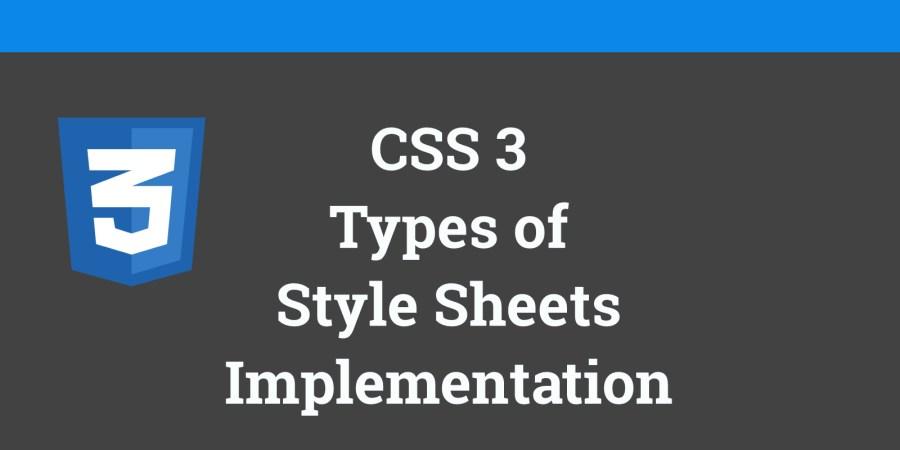 CSS Tutorial inline