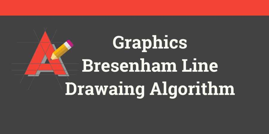 Bresenham Line Drawing Algorithm For Positive Slope : Bresenham line drawing algortithm livedu